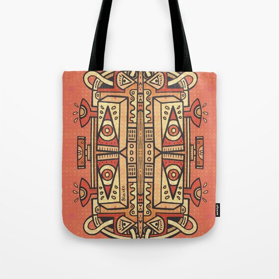Tribalien Tote Bag