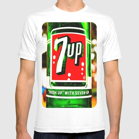 """Fresh up"" with Seven-Up T-shirt"