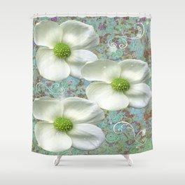 Dogwood Flowers Shower Curtain