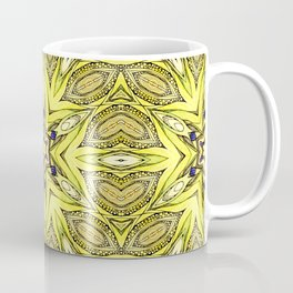 Yellow mandala Coffee Mug