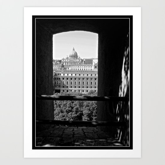 Vatican City, Rome Art Print