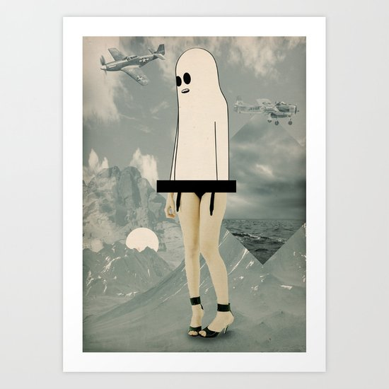 voila_voilà Art Print