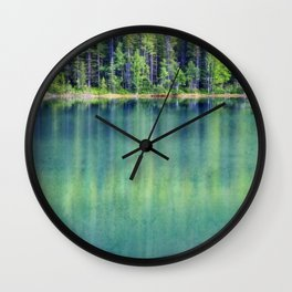 Deep Down Wall Clock