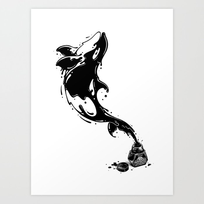 Great Leap Art Print