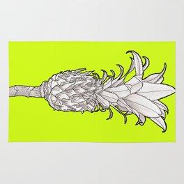 Pineapple - Ananas Arising tikigreen Rug