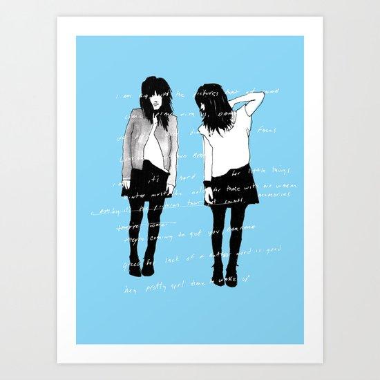 grady twins Art Print