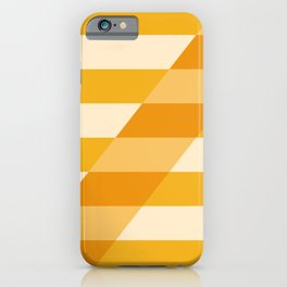 Striped Shadow 2 iPhone Case