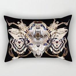 Old West Bones Rectangular Pillow