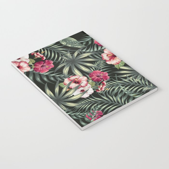 Tropical leave pattern 11.1 Notebook