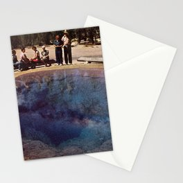 Norris Geyser Basin Stationery Cards