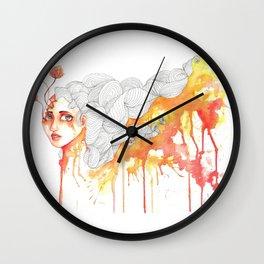 Descendant of Dawn Wall Clock