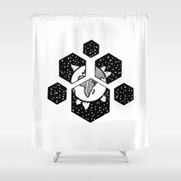 Terre espace Shower Curtain