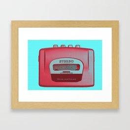 FAVOURITE90 - Walkman01 Framed Art Print