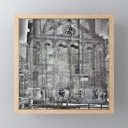 needling like the need to believe in set behaviors Framed Mini Art Print