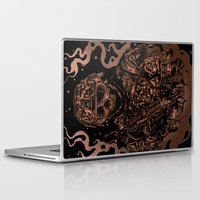 military Laptop & iPad Skins featuring Military skull by barmalisiRTB