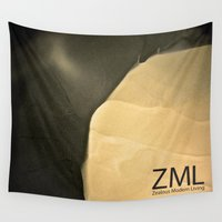 tomb raider Wall Tapestries featuring Tomb by ZML Zealous Modern Living