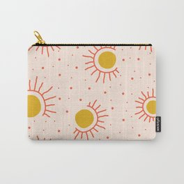 Abstract Suns Carry-All Pouch