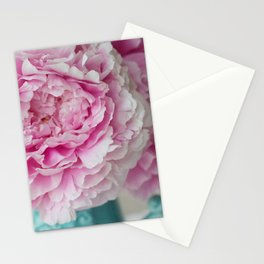 Peony Afternoon 1 Stationery Cards