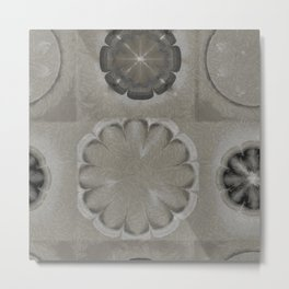 Untenableness Unveiled Flower  ID:16165-132836-04120 Metal Print