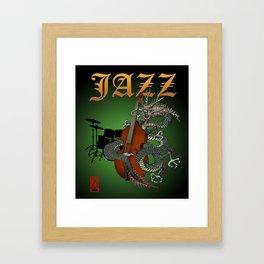 Dragon Contrabass2 Framed Art Print
