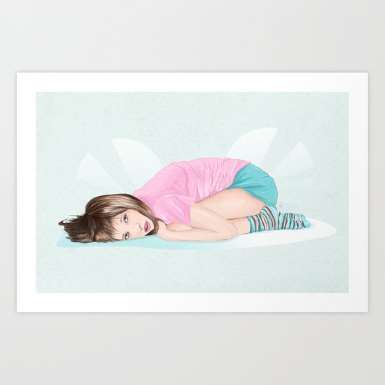 I need to cuddle Art Print