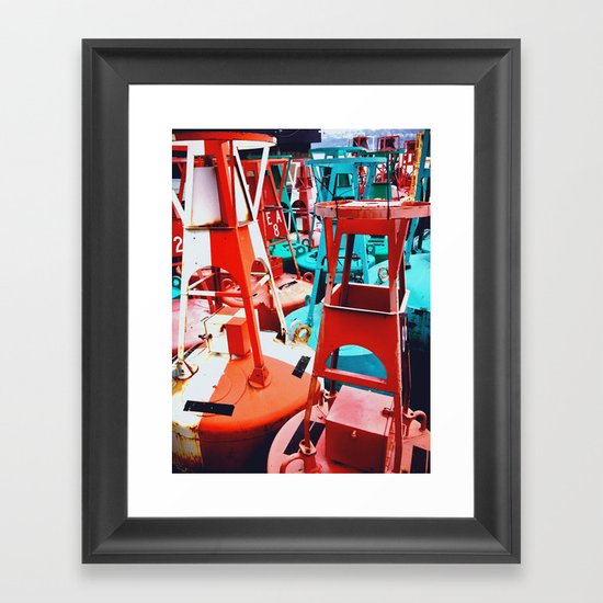 Buoy O'h Buoy Framed Art Print