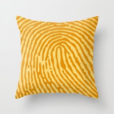 My mark #3 Throw Pillow