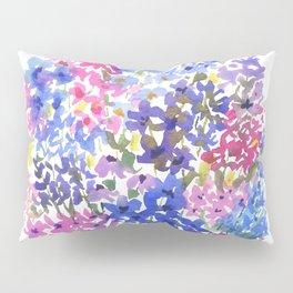 Blue Delphinium Garden Pillow Sham