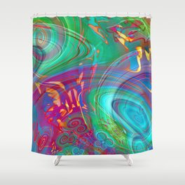 Song of the Sirens Shower Curtain