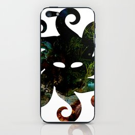 Logo Only - Undersea Mask iPhone Skin