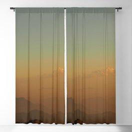 Mountains dreamlike sunset Blackout Curtain