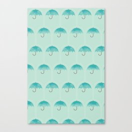 Umbrella Falls Canvas Print