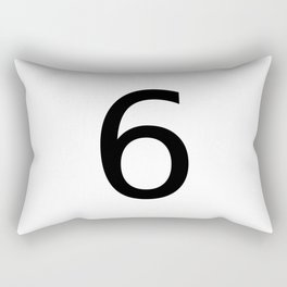 6 - Six Rectangular Pillow