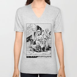 Ghost in the Shell: Section 9 Unisex V-Neck