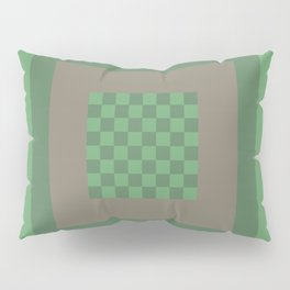 Green All Over Pillow Sham