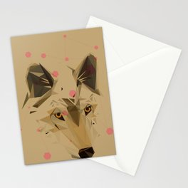 Iberican Wolf Stationery Cards