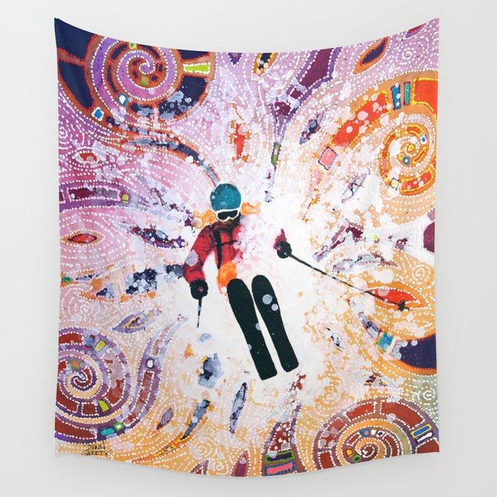 Powder Princess Wall Tapestry