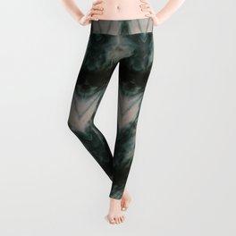 Shades of Green Shibori Leggings