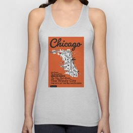 Great Cities: Chicago Unisex Tank Top