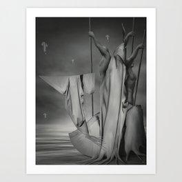 """Semailles """"B"""" Art Print"""