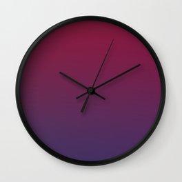 DESTINATION - Minimal Plain Soft Mood Color Blend Prints Wall Clock
