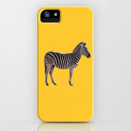 Life's a Zoo in Zebra iPhone Case