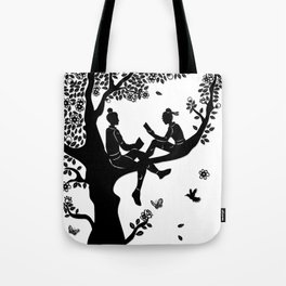 The Butterfly Lovers - Friends to Lovers Tote Bag