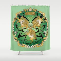 My Empire Collection Summer Set mint green Shower Curtain