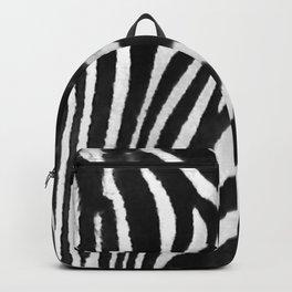 Portrait of Zebra Black and White #decor #society6 #buyart Backpack