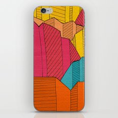 Cliff Colours iPhone & iPod Skin