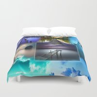 bridge Duvet Covers featuring Bridge by Dorina Ohme