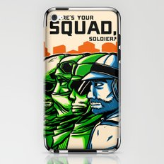 Where's Your Squad? iPhone & iPod Skin