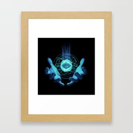 Virtual Reality Check Framed Art Print