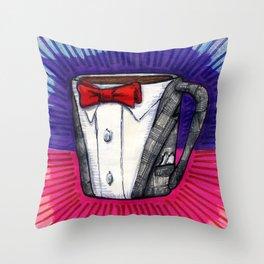 I drew you a Pee-wee Herman Suit Mug of Coffee Throw Pillow